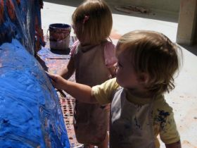 For young children, hands-on creative play is more important than screen time of any kind.