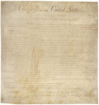 It's the Bill of Rights. Not a rag to wipe up your mess.