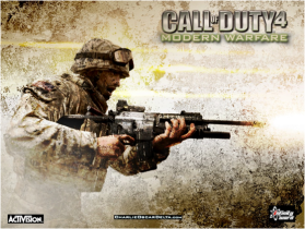 Call of Duty, popular first person shooter video game among youth