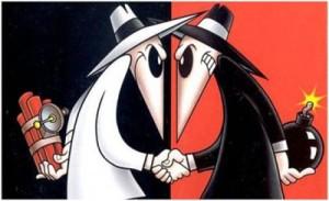 Mad Magazine spy-vs-spy