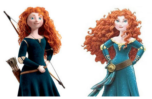 Disney Turns The Heroine Merida Into A Sexy Babe Sparks Outrage