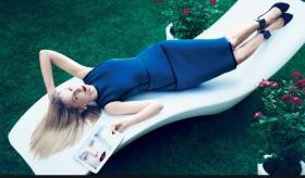 Marissa Meyer, Yahoo CEO, poses for Vogue
